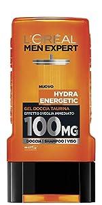 Gel doccia Hydra Energetic 100MG Taurina, 300 ml