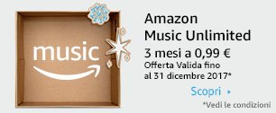 Amazon Music Unlimited 3 mesi a 0,99 €