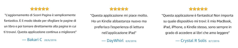 Quest'applicazione mi piace molto. Ho un nuovo Kindle, ma preferisco l'esperienza di lettura sull'app per iPad.