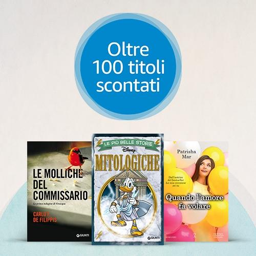 Offerte Kindle: fino al 70% di sconto su oltre 100 eBook