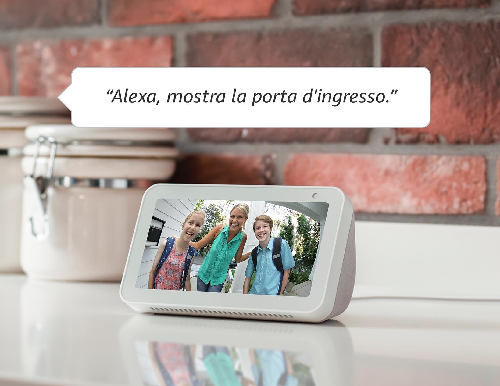 Compatibile con Alexa