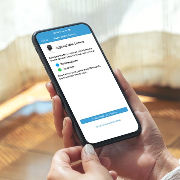 Scarica l'app Blink Home Monitor sul tuo smartphone