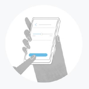 Segui le indicazioni nell'app per connettere il dispositivo al Wi-Fi