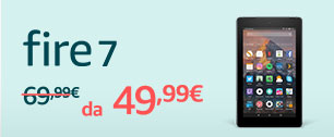 20€ di sconto su tablet Fire 7