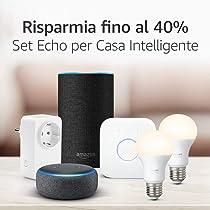 Offerte su Alexa e Casa intelligente: fino al 40% di sconto su un ampia selezione