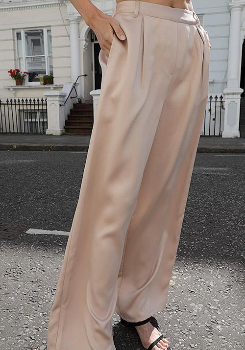 Silky pants