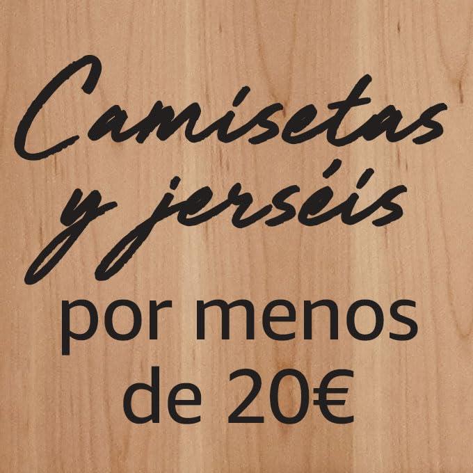 Camisetas y jerséis por menos de 20€