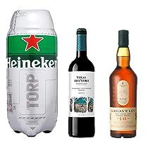 Hasta un 40% de descuento en Bebidas Alcohólicas como Lagavulin, Heineken, Viñas del Vero y más