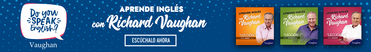 Aprende Inglés con Richard Vaughan - Explorar