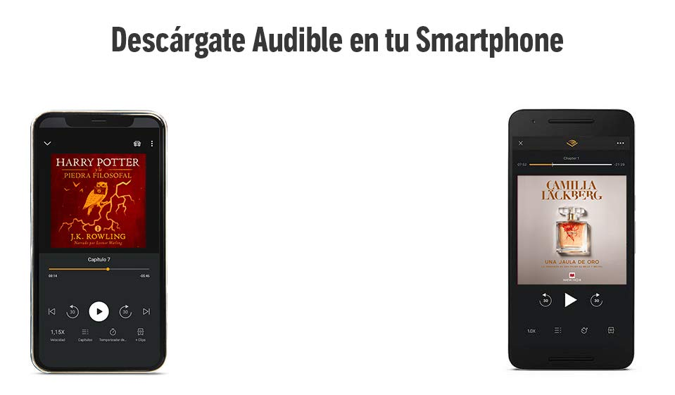 Descárgate Audible en tu smartphone