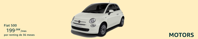 Fiat 500 Coche renting