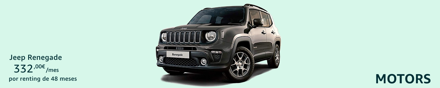 Jeep Renegate Coche renting
