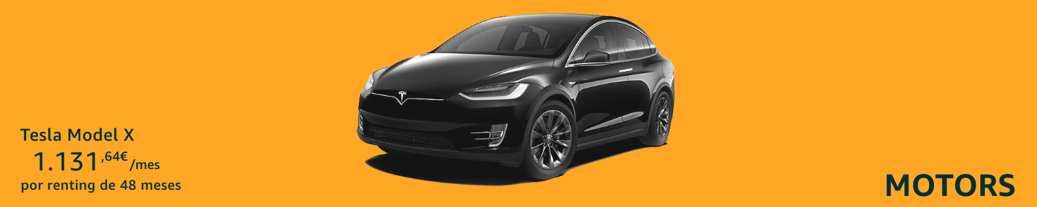 Tesla X Coche renting