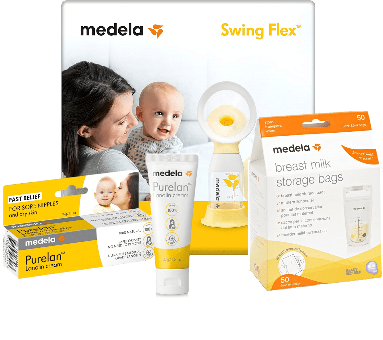 Medela: Les indispensables du bébé