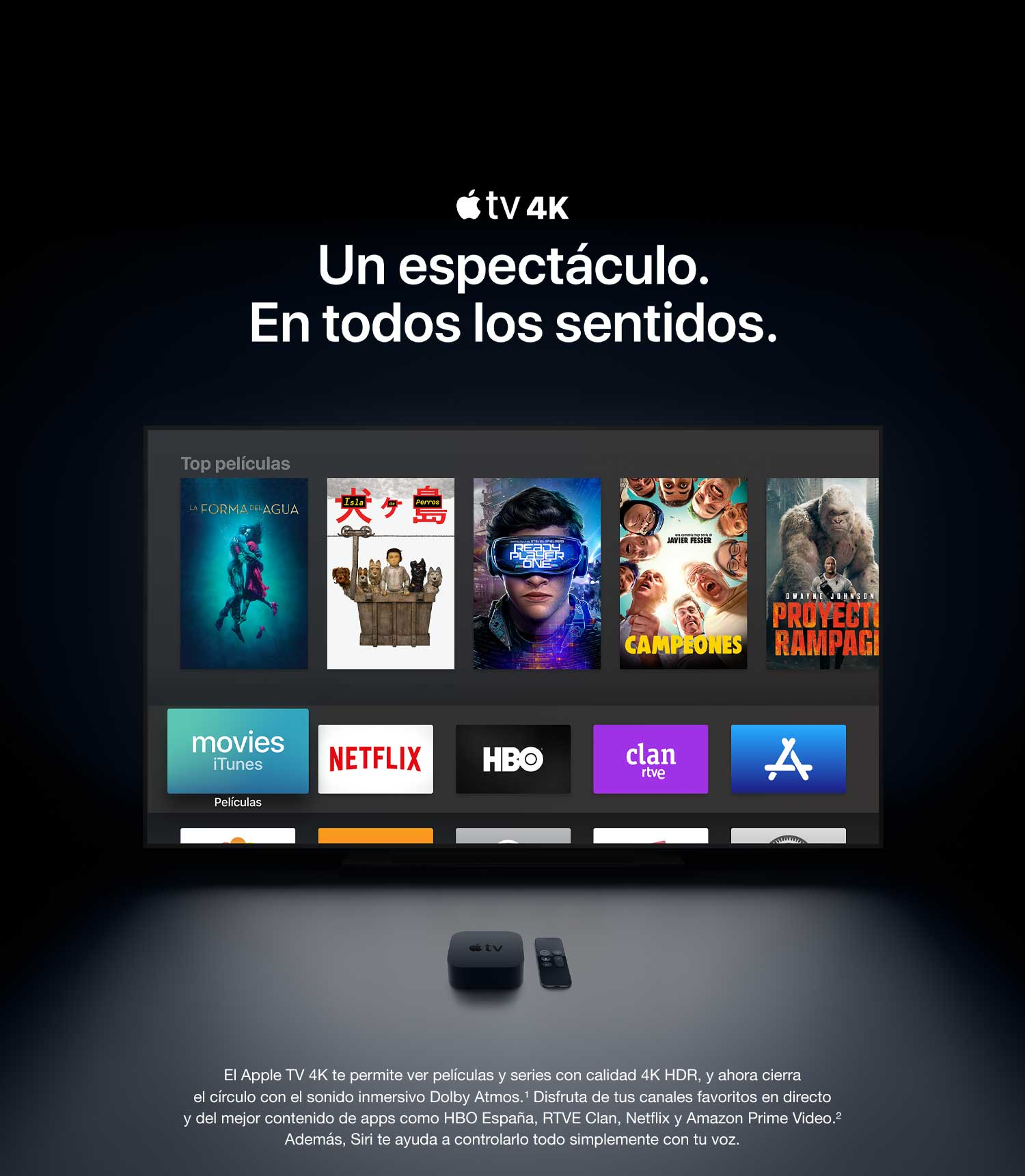 Apple TV 4K (de 64 GB): Apple: Amazon.es