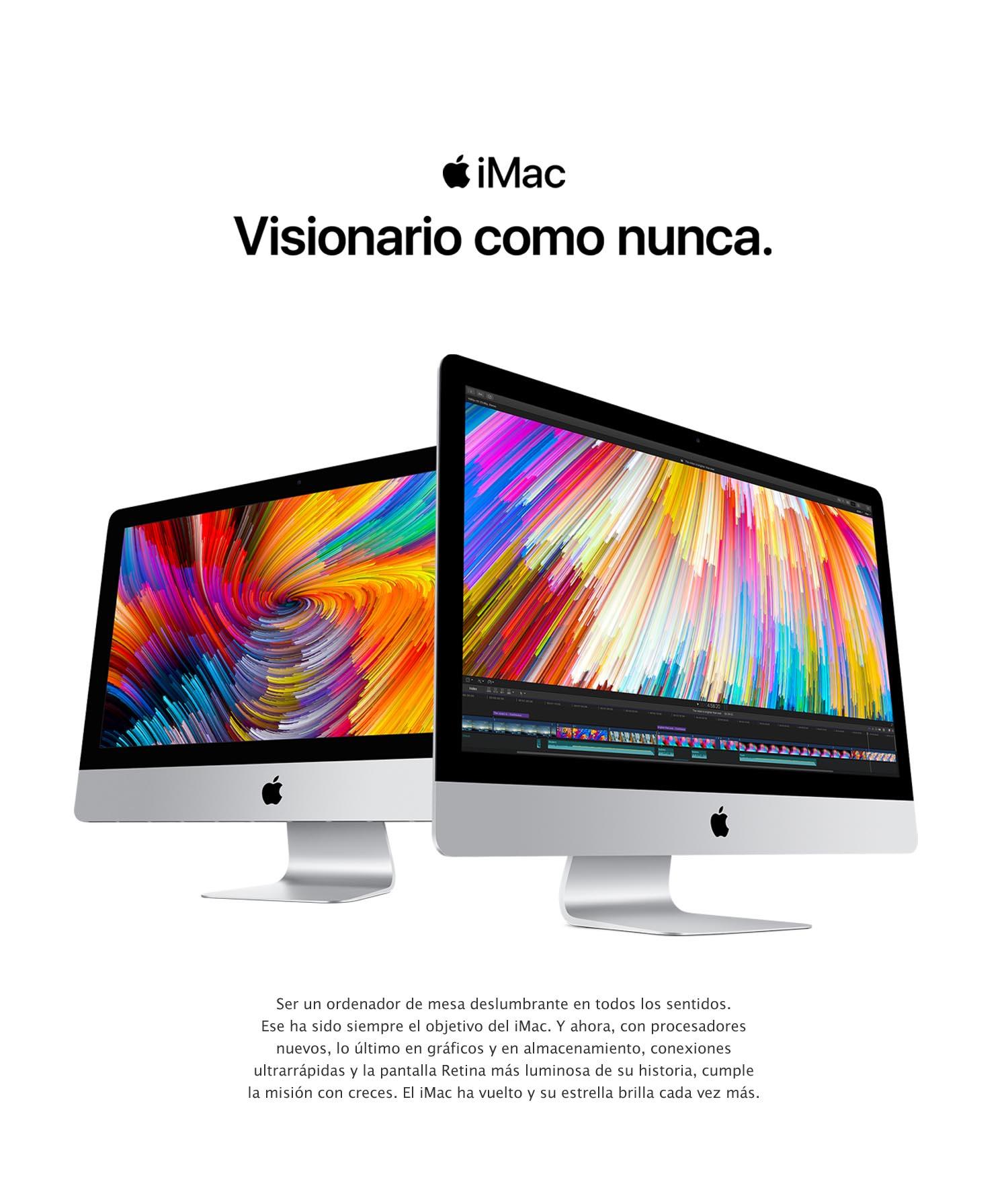 Apple iMac 27 pulgadas (pantalla Retina 5K, procesador Intel Core i5 de cuatro núcleos a 3,5 GHz) (Modelo precedente): Apple: Amazon.es