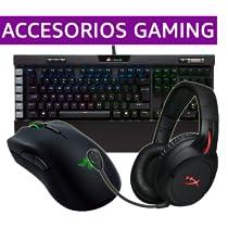 Selección de accesorios Gaming Logitech, Razer, Steelseries y más