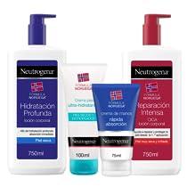 Oferta en packs promocionales de Neutrogena