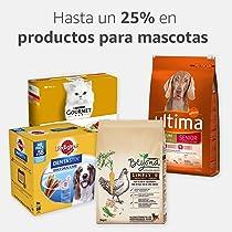 Hasta un 25% en productos de mascotas