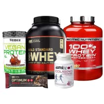 Hasta un -40% en Nutrición Deportiva (Optimum Nutrition, Scitec, Weider, Power Bar y Colnatur)