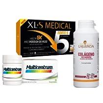 Hasta un -40% en Vitaminas (Ana María, XLS, Multicentrum y otros)