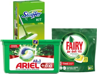 Hasta -30% en Ariel, Fairy y Swiffer