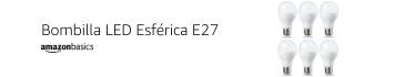 Bombilla LED Esférica E27