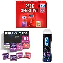Hasta -50% en preservativos y lubricantes de Durex y Control