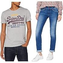 Moda de Wrangler, Lee, Superdry y Pepe Jeans