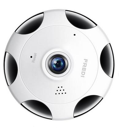 FREDI Cámara de Seguridad 360 Grados 1536P HD IP WiFi