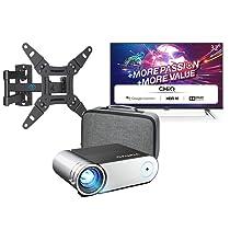 TV, proyectores y home entertainment en oferta