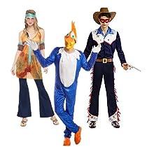 Oferta en disfraces para Carnaval
