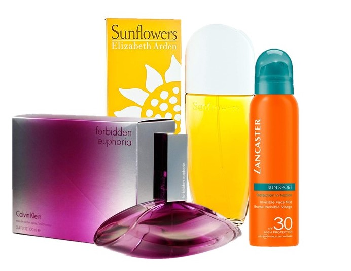 Descuentos en Perfumes y Cremas solares