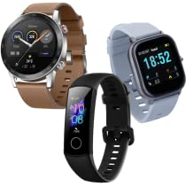 Descubre smartbands y smartwatches en oferta