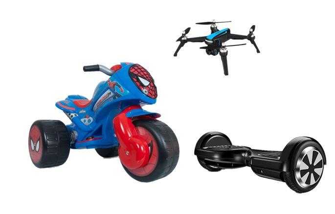Hasta -30% en Juguetes: Drones DJI, Hoverboards y más
