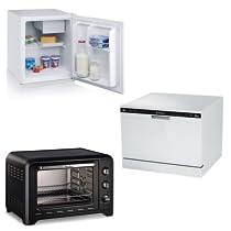 Frigoríficos, microondas, lavavajillas y hornos