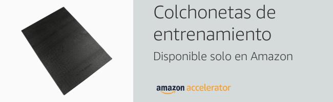 COSTWAY Colchoneta Inflable Hinchable para Gimnasia Training Tapete de Yoga Entrenamiento Alfombra de Piso Suave Fitness con Bomba de Aire ...