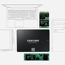 Samsung 850 EVO - Disco duro sólido (250 GB, Serial ATA III, 540 ...