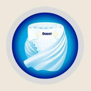 Dodot Sensitive - Pañales para bebé