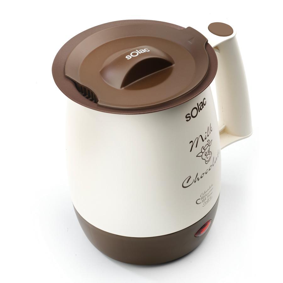 Solac 238555 Calienta leches chocolatera com filtro anti