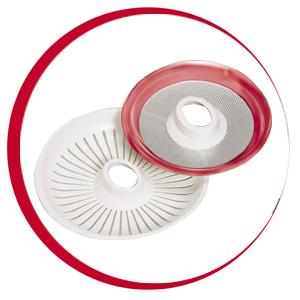 Moulinex Vitapress PC300B 2 filtros (con y sin pulpa)