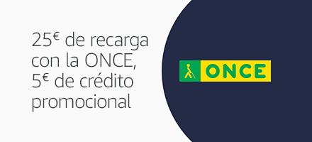25€ de Código de recarga, 5€ de crédito promocional