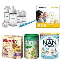 Ahorra hasta un 25% en alimentación infantil, biberones y complementos para la lactancia