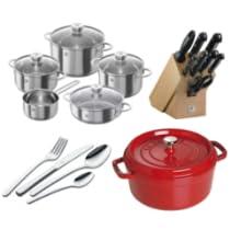 Productos de cocina Zwilling y Staub