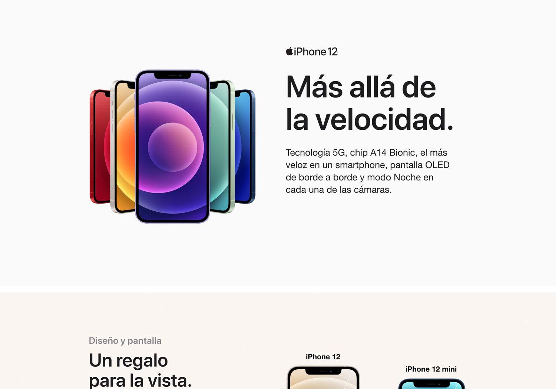 Nuevo Apple iPhone 12