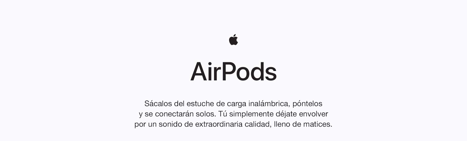 Apple AirPods con estuche de carga inalámbrica: Apple: Amazon.es
