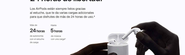 Apple AirPods con estuche de carga inalámbrica: Apple: Amazon.es