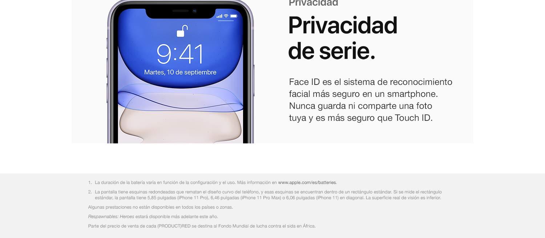 Apple iPhone 11 (64 GB) - en Blanco: Apple: Amazon.es