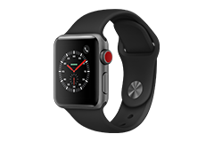 Apple Watch Series 3 (GPS) con caja de 38 mm de aluminio en plata ...