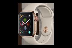 Apple Watch Series 4 (GPS + Cellular) con caja de 44 mm de acero ...